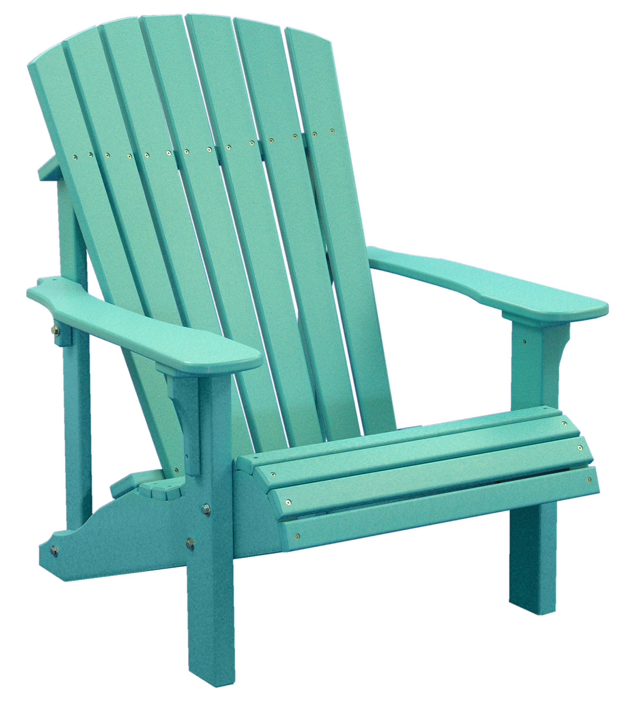 Poly Deluxe Adirondack Chair Outdoor Furniture Luxcraft Swiss Country Lawn Crafts