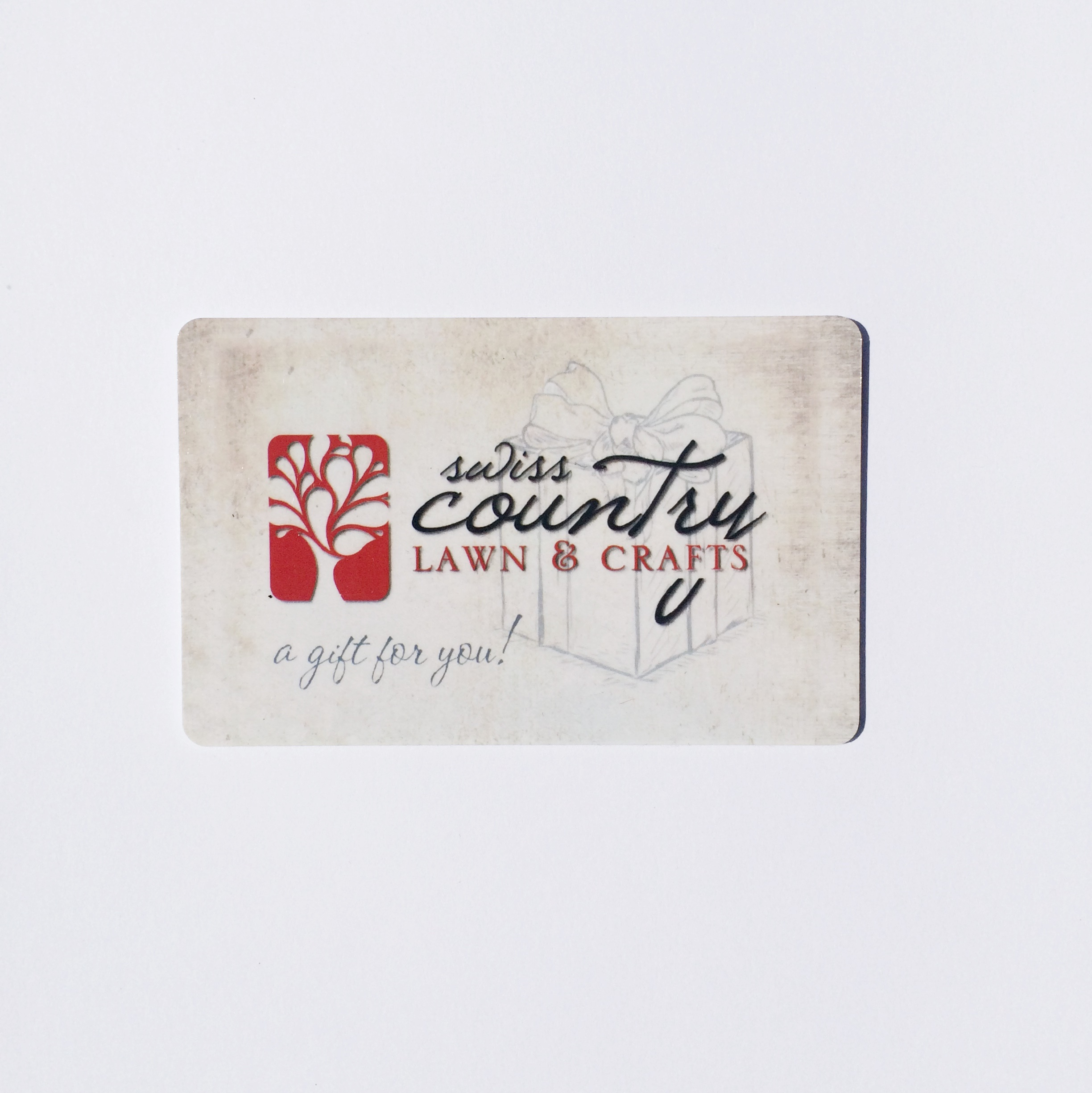 Gift Cards Swiss Country Gift Card