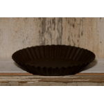 "5"" Rustic Round Candle Pan"