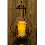 3D Bronze Wrought Iron Lantern