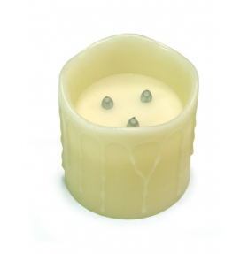6x6 Battery Timer Candle