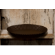 "10"" Rustic Round Candle Pan"